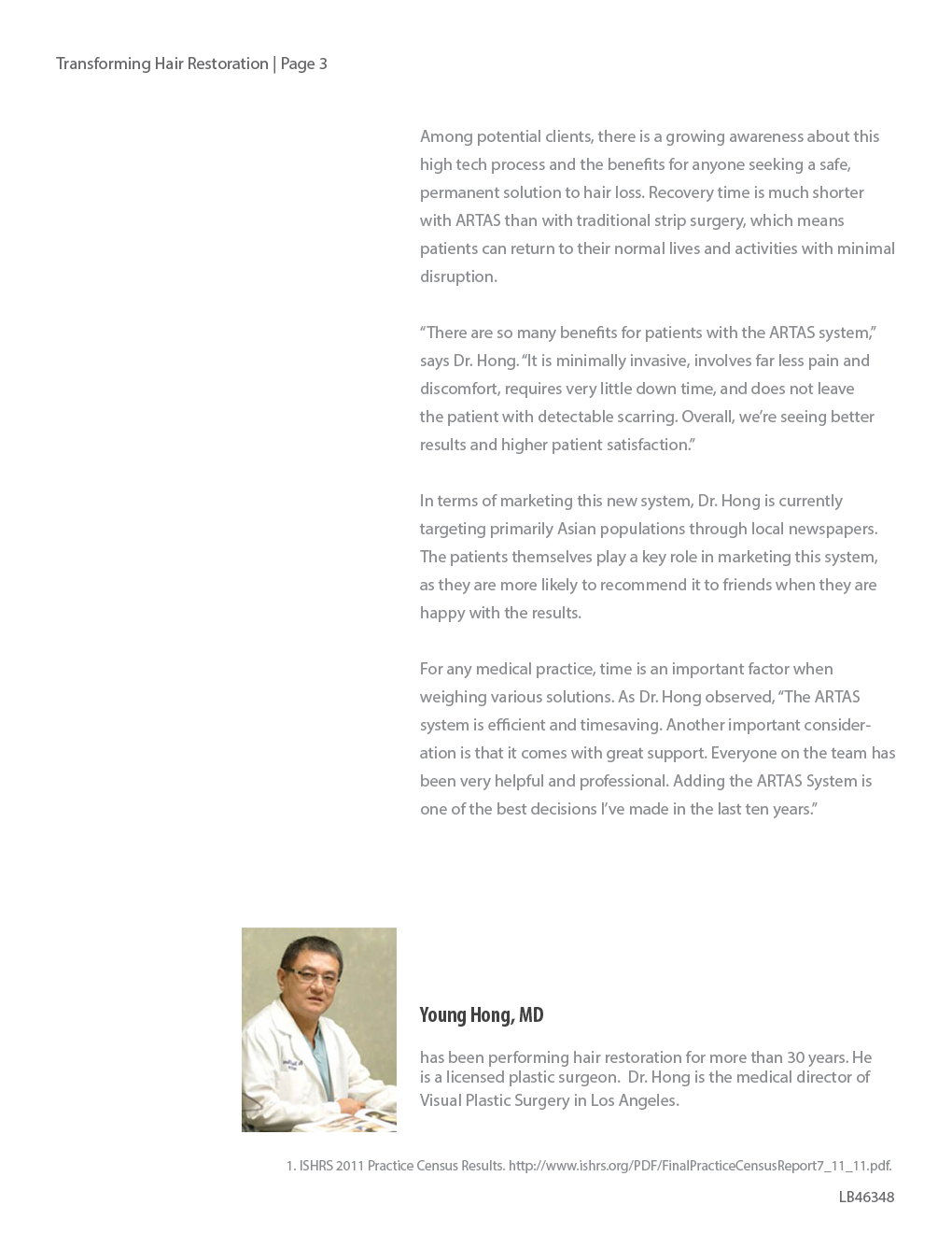 Transforming Hair Restoration through Precision Robotics and Advance Imaging by Dr. Young Hong 3 1